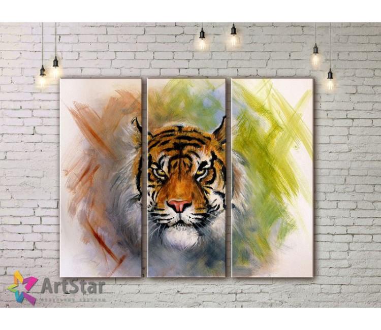 Модульные картины с животными, Art. AMM778002