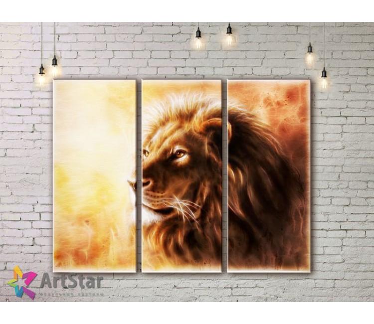 Модульные картины с животными, Art. AMM778004