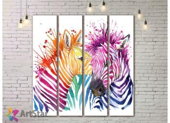 Модульные картины с животными, Art. AMM778034