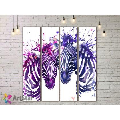 Модульные картины с животными, Art. AMM778036