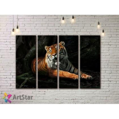 Модульные картины с животными, Art. AMM778052