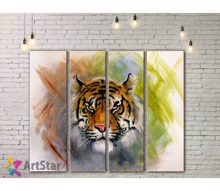 Модульные картины с животными, Art. AMM778066