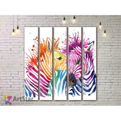 Модульные картины с животными, Art. ANIM778078
