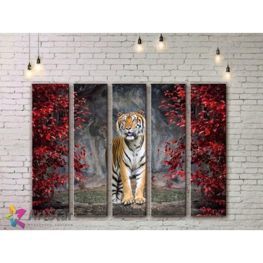 Модульные картины с животными, Art. ANIM778086