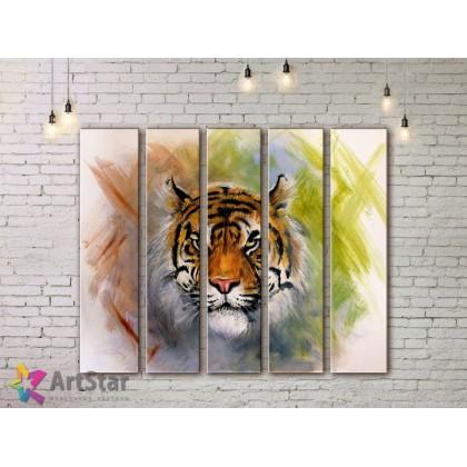 Модульные картины с животными, Art. ANIM778110