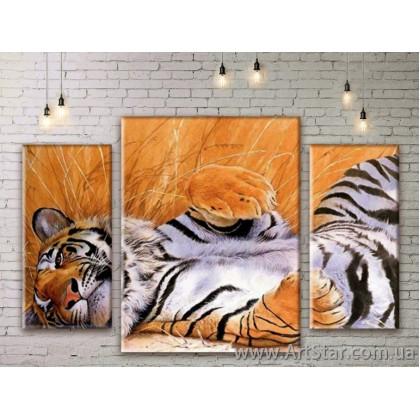 Модульные картины с животными, Art. ANIM777031