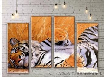 Модульные картины с животными, Art. ANIM777033
