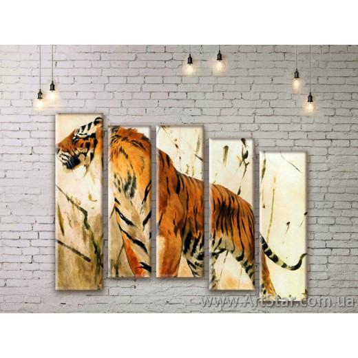 Модульные картины с животными, Art. ANIM777053
