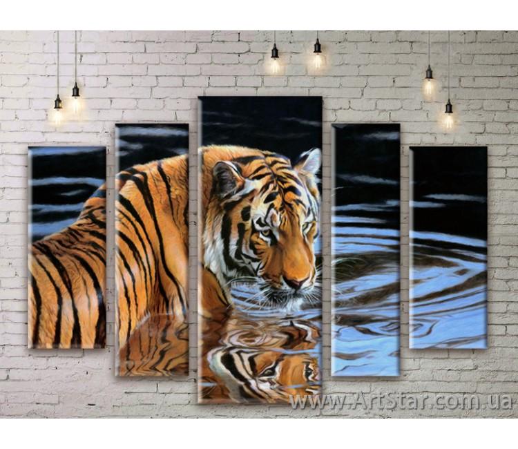 Модульные картины с животными, Art. ANIM777059