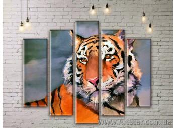 Модульные картины с животными, Art. ANIM777065