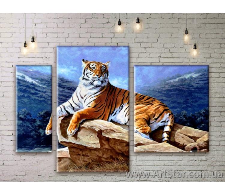 Модульные картины с животными, Art. ANIM777067
