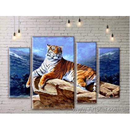Модульные картины с животными, Art. ANIM777069