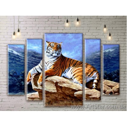 Модульные картины с животными, Art. ANIM777071