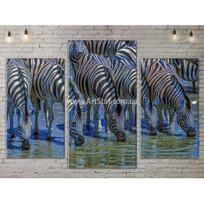Модульные картины с животными, Art. ANIM778019
