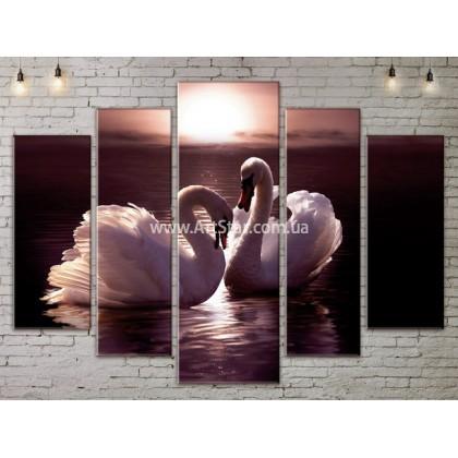 Модульные картины с животными, Art. ANIM778053