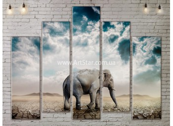 Модульные картины с животными, Art. ANIM778059