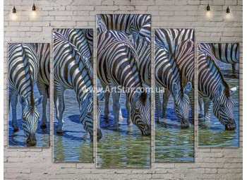 Модульные картины с животными, Art. ANIM778071