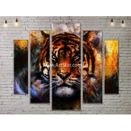 Модульные картины с животными, Art. ANIM778075