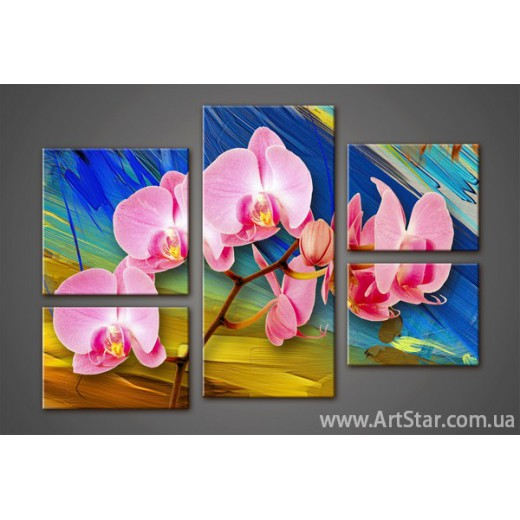 Модульная картина Орхидеи (5)