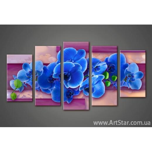 Модульная картина Орхидеи (5) 3