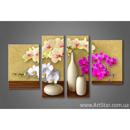 Модульная картина Орхидеи(4) 5