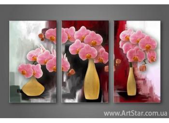Модульная картина Орхидеи 7
