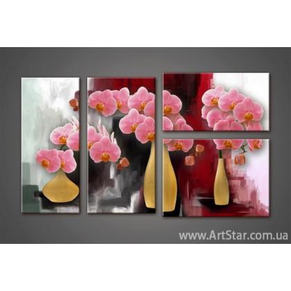 Модульная картина Орхидеи(4) 7
