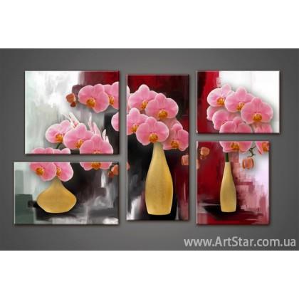 Модульная картина Орхидеи (5) 7