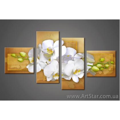 Орхидея, модульные Картины