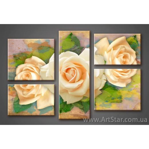 Розы, Модульная Картина