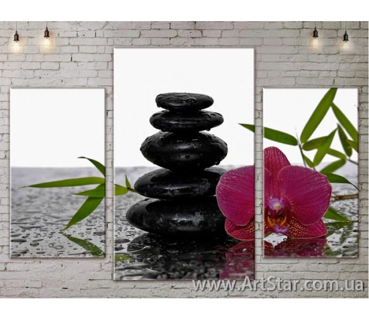 Модульные Картины Цветы, Art. FLOW777143