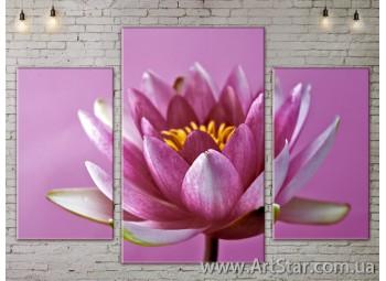 Модульные Картины Цветы, Art. FLOW777151