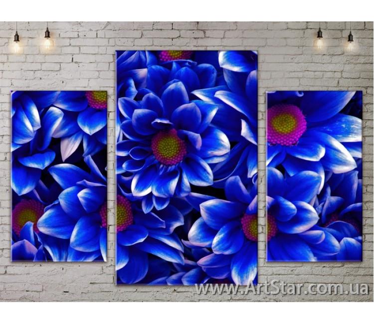 Модульные Картины Цветы, Art. FLOW777183