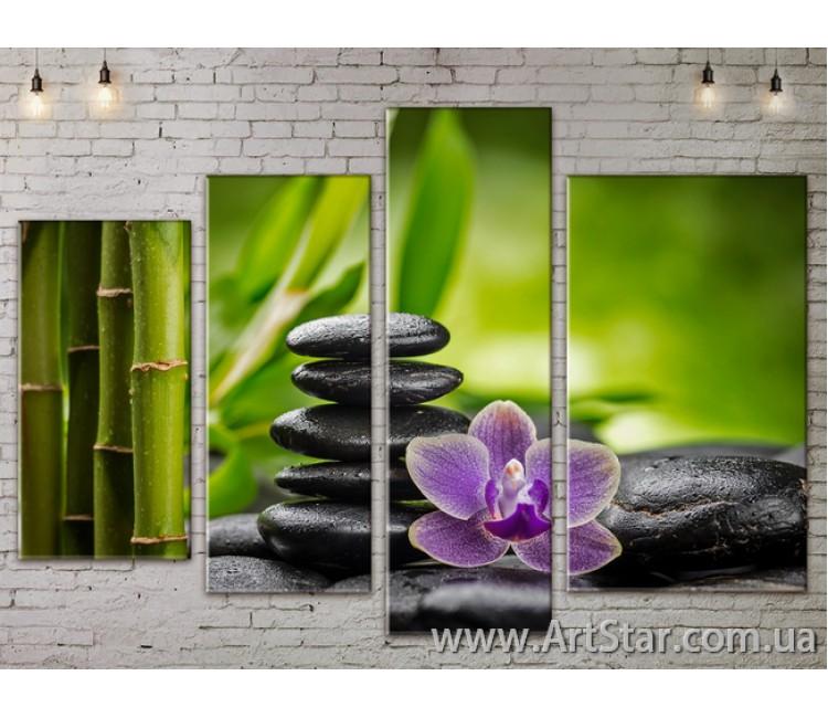 Модульные Картины, Цветы, Art. FLOW777436