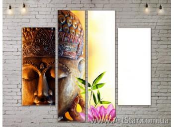 Модульные Картины, Цветы, Art. FLOW777558