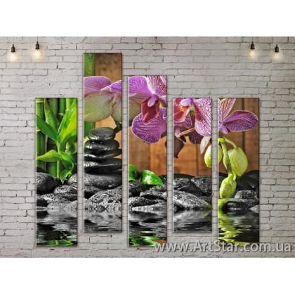 Модульные Картины, Город, Art. FLOW777832