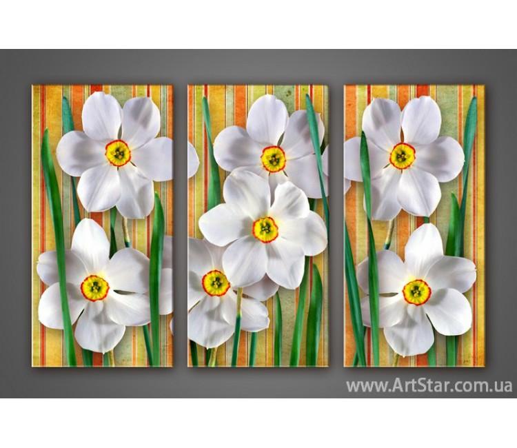 Модульная картина Цветы Лилии