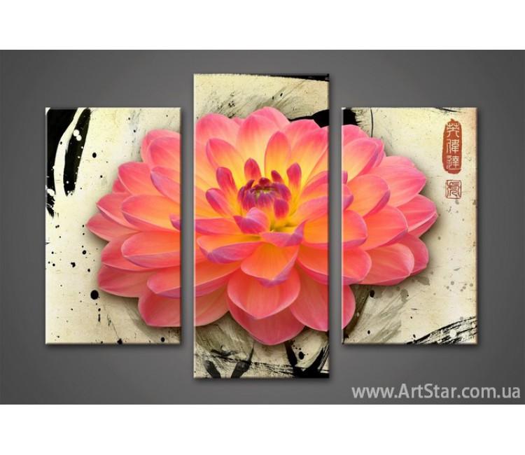 Модульная картина Цветы Лилии 5