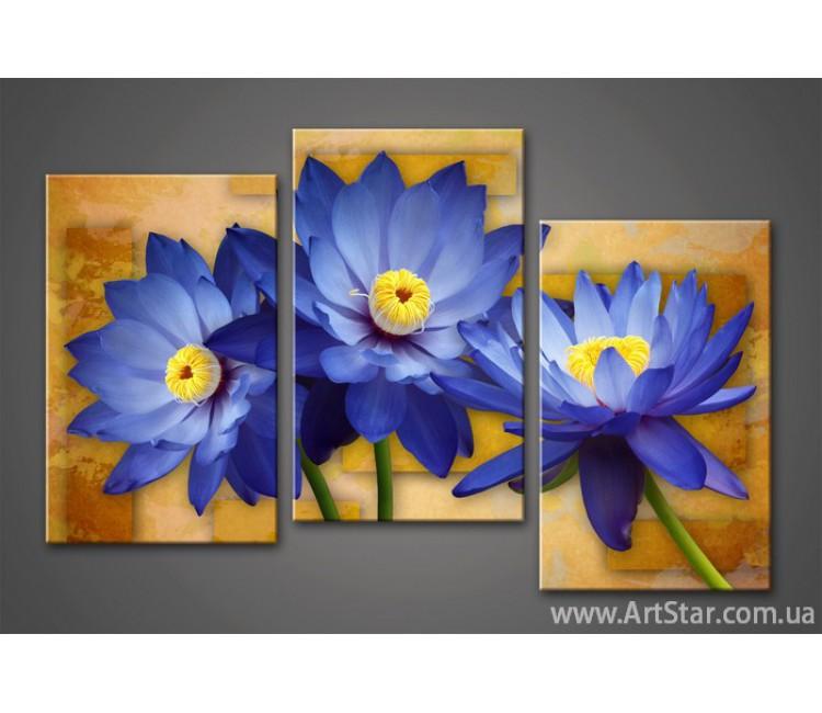 Модульная картина Цветы Лилии 6