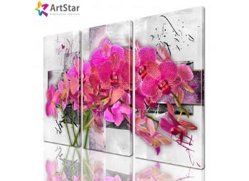 Модульная картина - Цветы, Art. favt_0001