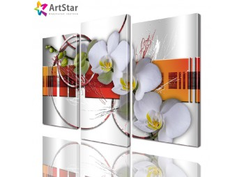 Картина модульная | Орхидеи