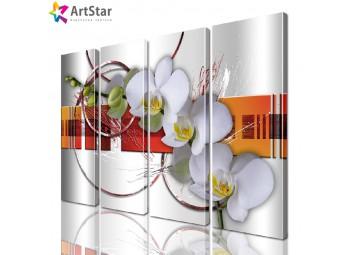 Модульные картины | Цветы, Art. favt_0010