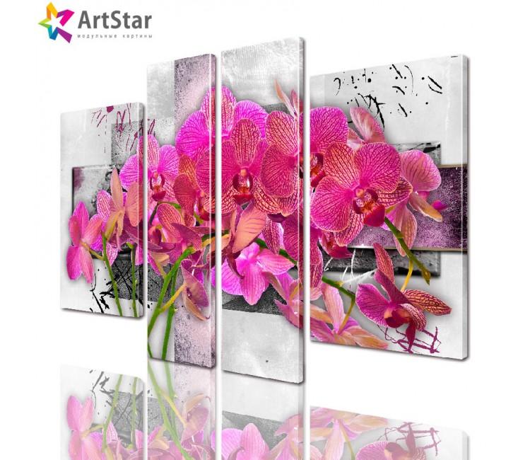 Картина модульная| Цветы, Art. favt_0013