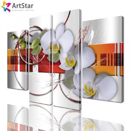 Картина модульная| Цветы, Art. favt_0014