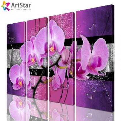 Модульные картины | Цветы, Art. favt_0035