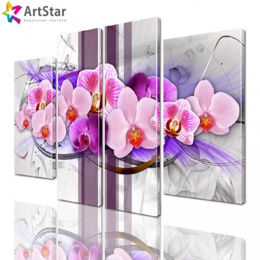 Картина модульная| Цветы, Art. favt_0037