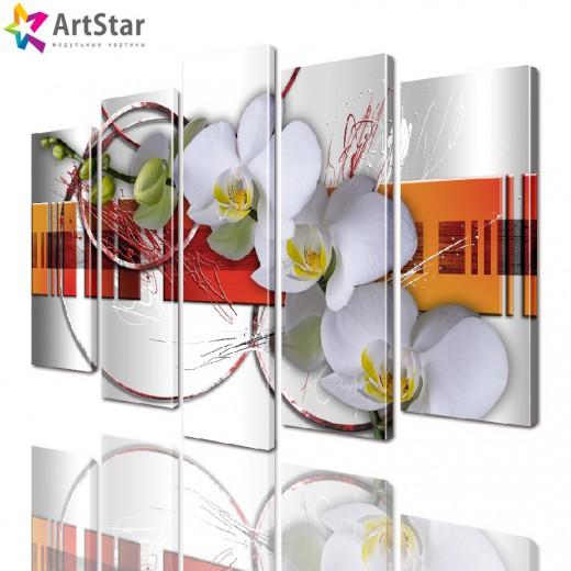 Модульные картины - Цветы, Art. favt_0022