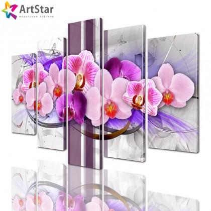 Модульные картины - Цветы, Art. favt_0045