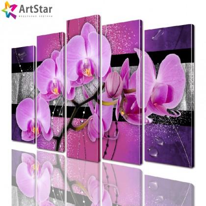 Модульные картины - Цветы, Art. favt_0046