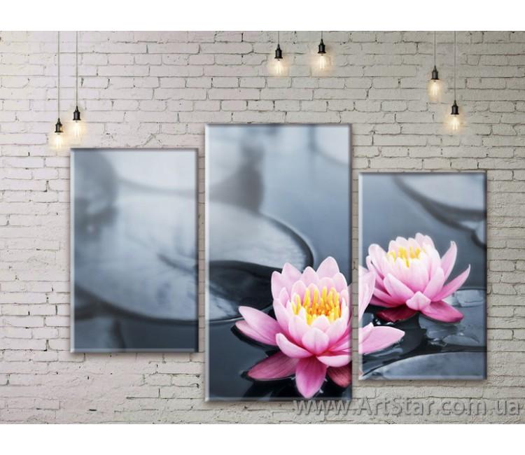 Модульные Картины Цветы, Art. FLWM0051